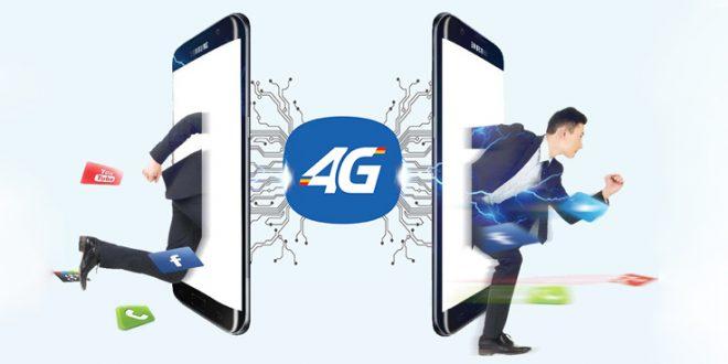 Thời gian kết nối mạng 4G nhanh hơn 3G