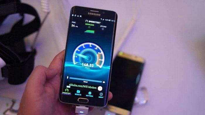 Tốc độ download và upload của mạng 4G nhanh hơn 3G