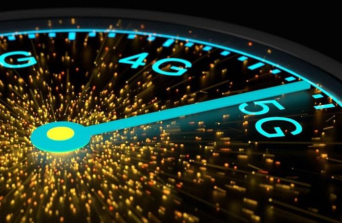 Tốc độ mạng 5G nhanh hơn 4G 10 lần