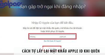 Quên mật khẩu Apple ID? Đừng lo, đã có cách tự lấy lại pass
