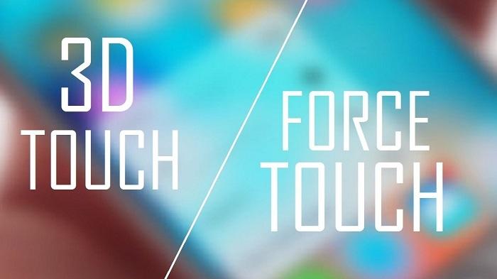 3D Touch là công nghệ dược phát triển dựa trên Force Touch