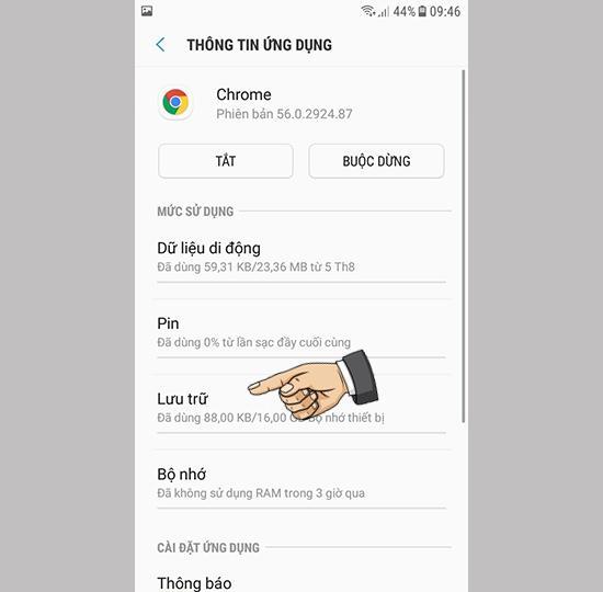 6 cách khắc phục điện thoại Samsung đầy bộ nhớ 12