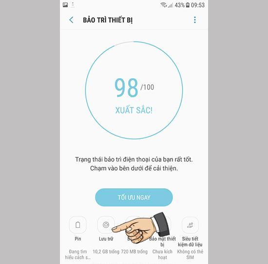 6 cách khắc phục điện thoại Samsung đầy bộ nhớ 2