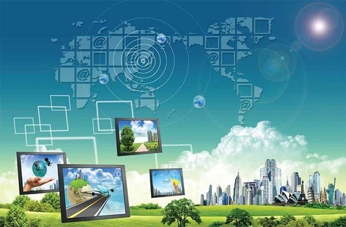 Các thiết bị đầu cuối liên kết với nhau tạo thành mạng viễn thông