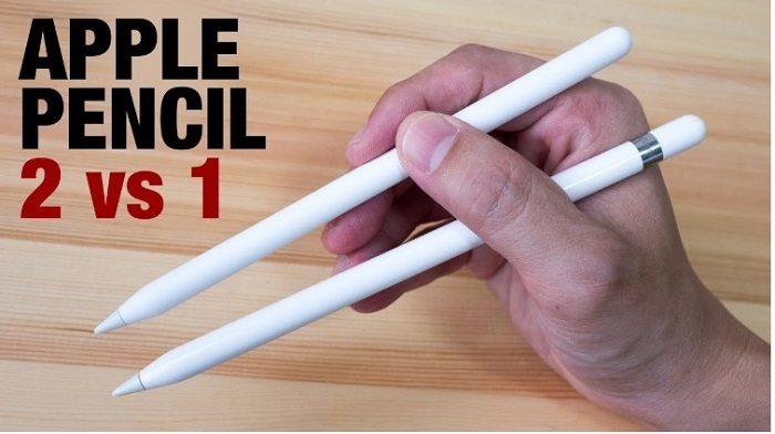 Apple Pencil 1 và Apple Pencil 2