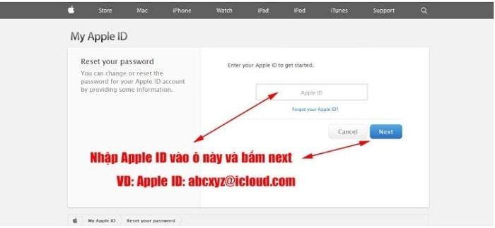 Vào Cài đặt > iCloud > xem mục Account đã có địa chỉ email nào đăng nhập vào hay chưa