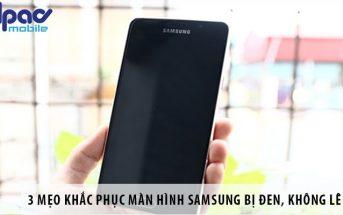 3 mẹo khắc phục màn hình Samsung bị đen, không lên hình