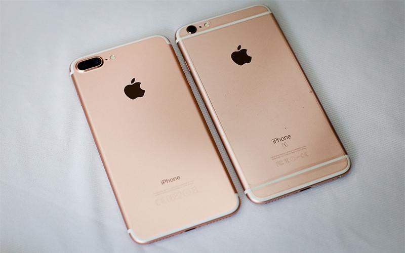 Mặt sau iPhone 7 liền mạch và thanh thoát hơn