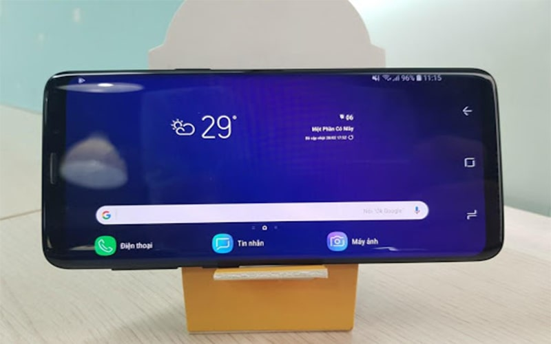 Camera Samsung bị xoay ngang do bật chế độ tự động xoay màn hình