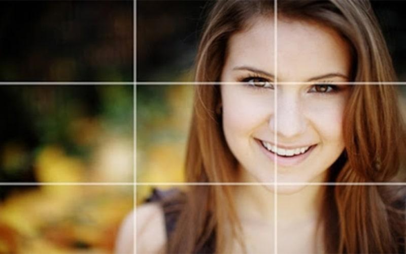 Mắt nằm ở vị trí giao nhau của các đường thẳng