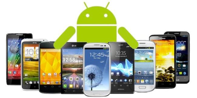 Các thiết bị sử dụng hệ điều hành Android