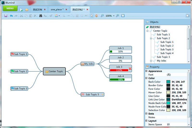 Blumind là phần mềm vẽ sơ đồ tư duy