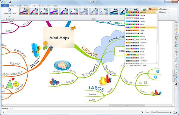 iMindMap - phần mềm vẽ sơ đồ tư duy môn Toán