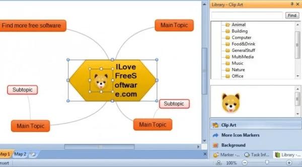 ThoughtStack - phần mềm vẽ sơ đồ tư duy môn Toán