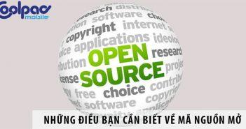 Những điều bạn cần biết về mã nguồn mở