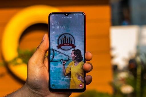 Chụp ảnh với Samsung Galaxy A20