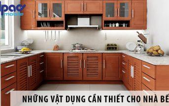 Những vật dụng cần thiết cho nhà bếp