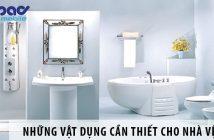 Những vật dụng cần thiết cho nhà vệ sinh