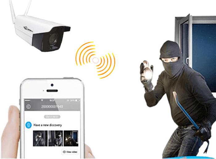 Lắp đặt camera ip để chống trộm