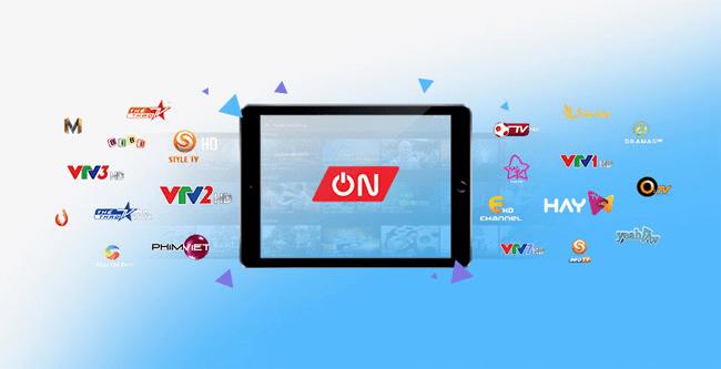 Ứng dụng xem tivi trên điện thoại Android - VTVcab ON