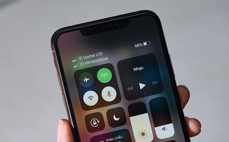Iphone XS Max bị lỗi mất sóng