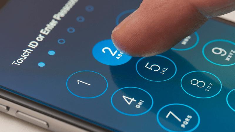 Lỗi vô hiệu hóa do quên mật khẩu trên iPhone Xs Max