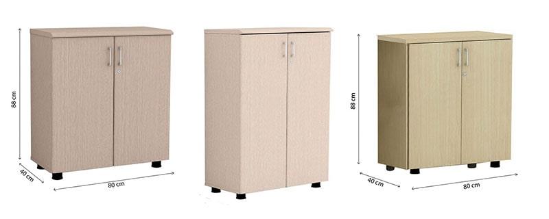 Kích thước chiều cao tủ hồ sơ là bao nhiêu?